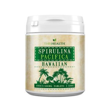 Spirulina Pacifica Tablets - 500g